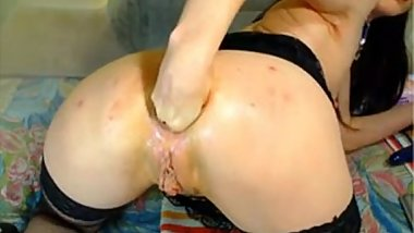Hot Russian mature fisting on webcam. My X-mas live webcam show: 4xcams.com
