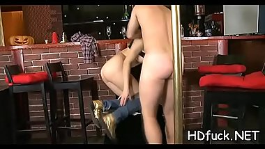 Vehement amateur sweetie gets unfathomable fingering and anal fuck
