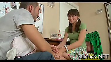 Alluring amateur sweetheart takes cock doggy style has it deep